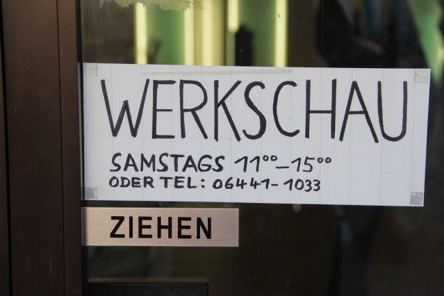 Werkschau der SCHNITTMENGE vom 24.02.2018 bis 24.03.2018.